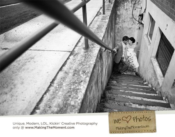 Creative Cleveland Wedding Photographer