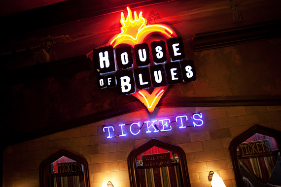 House of Blues Wedding Photography