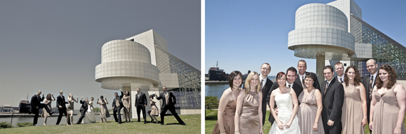 Rock and Roll Hall of Fame Wedding Photography