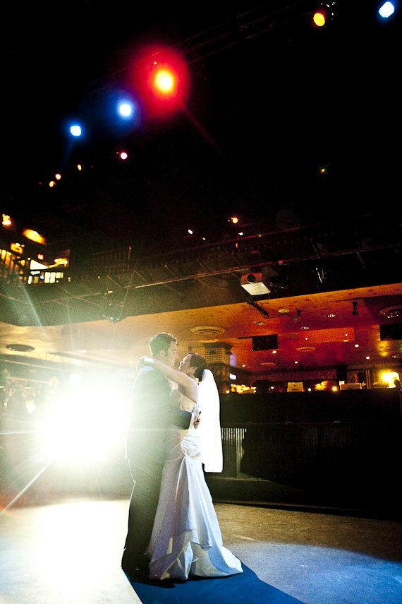 Cleveland House of Blues Wedding