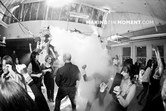 Cleveland Wedding Photographer Rave Reception