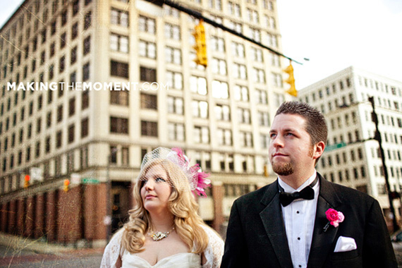 Akron Civic Theatre Wedding Photogrpaher