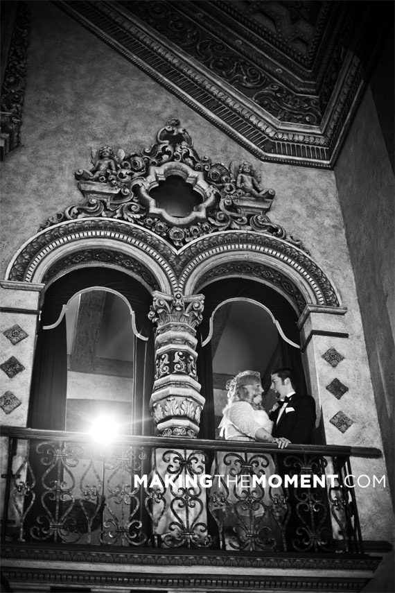 Akron Civic Theatre Wedding Photography