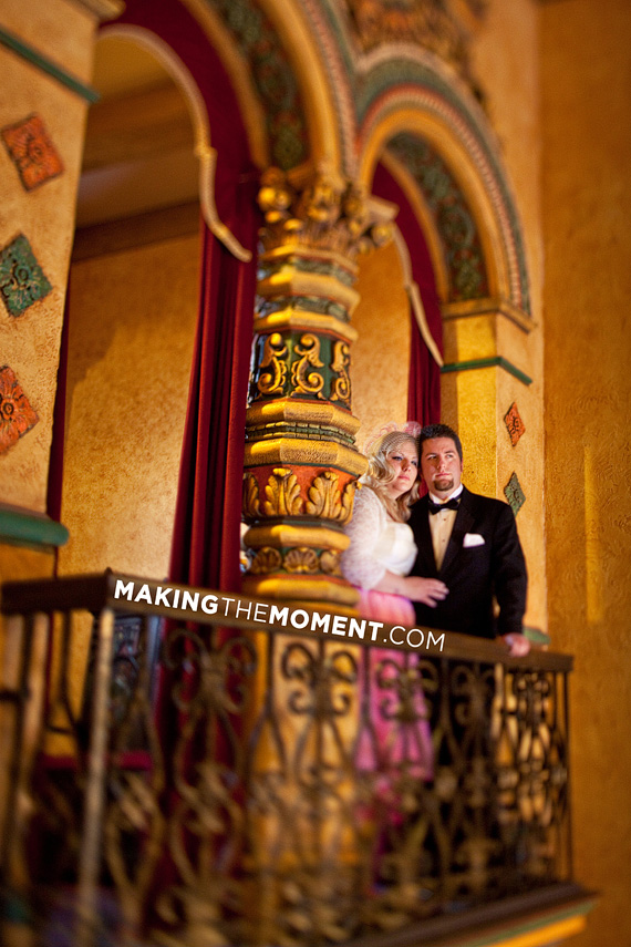 Akron Civic Theatre Wedding Photographer