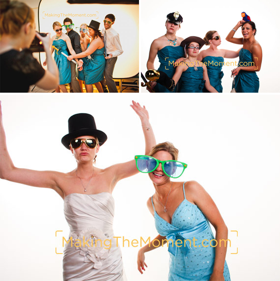 Cleveland Wedding Reception PhotoBooth