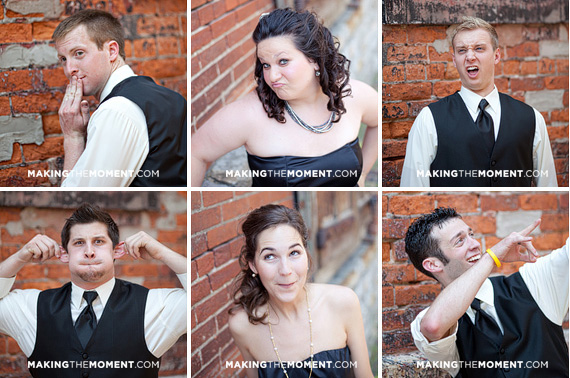 Fun Creative Columbus Wedding Photography