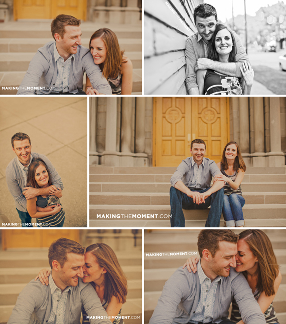 Cleveland Creative Engagement Session Photography