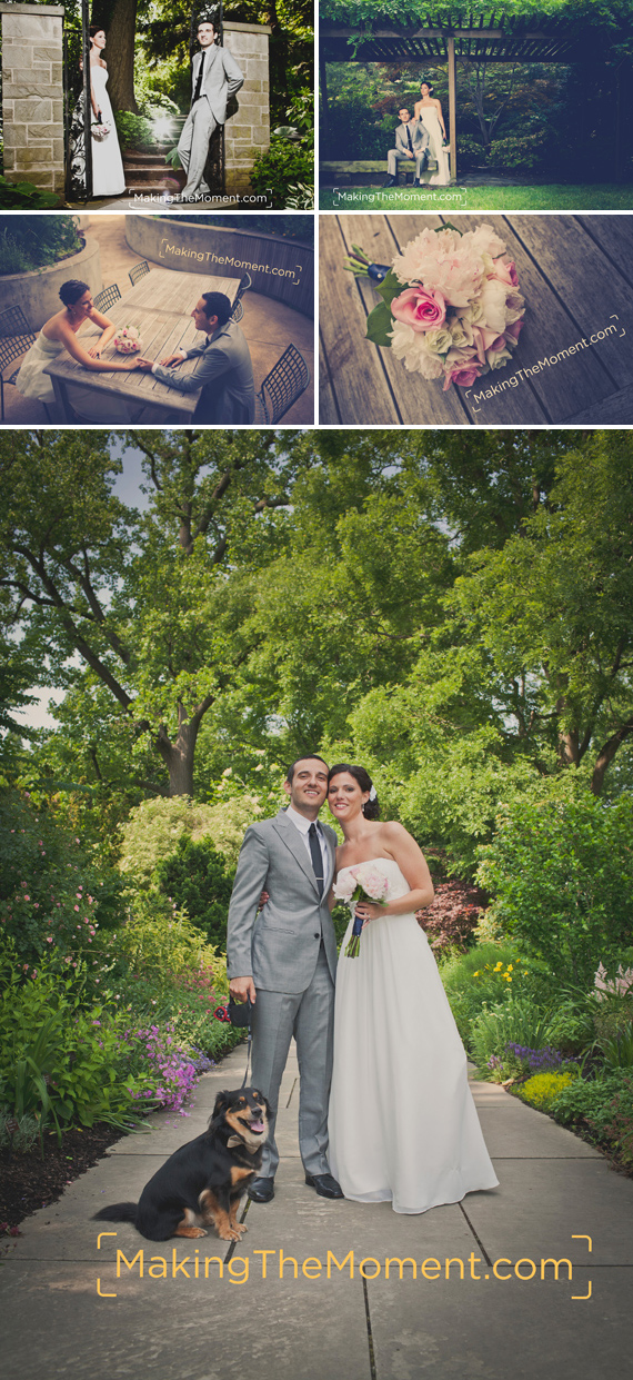 Cleveland Botanical Gardens Wedding Photographer