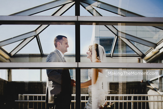 Great Lakes Science Center Wedding Photography