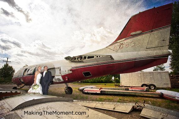 Columbus Grove creative wedding Photography