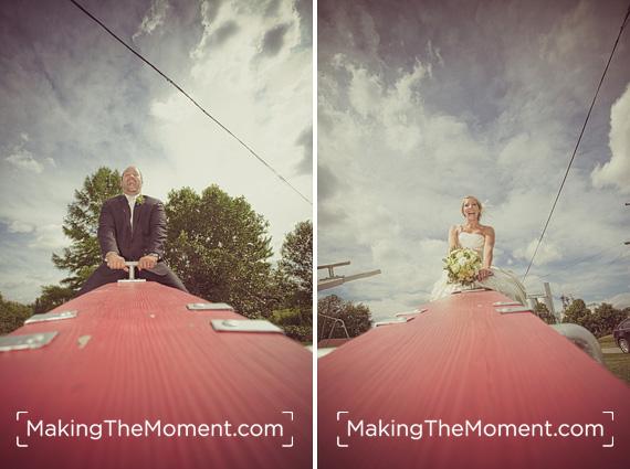 Fun Columbus Grove Wedding Photographer