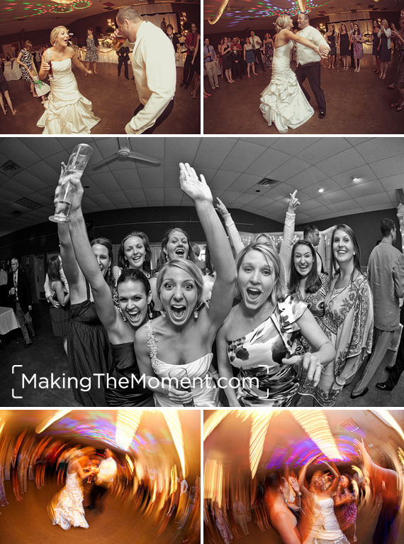 Fun Columbus Grove Wedding Photographer