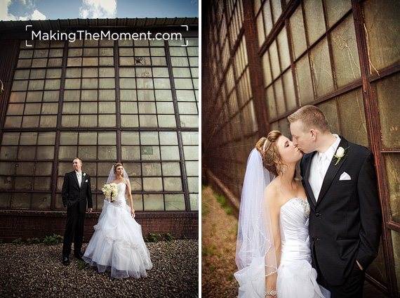 Modern Cleveland Wedding Photographer