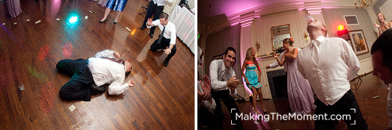 Brookside Country Club Wedding Reception Photography