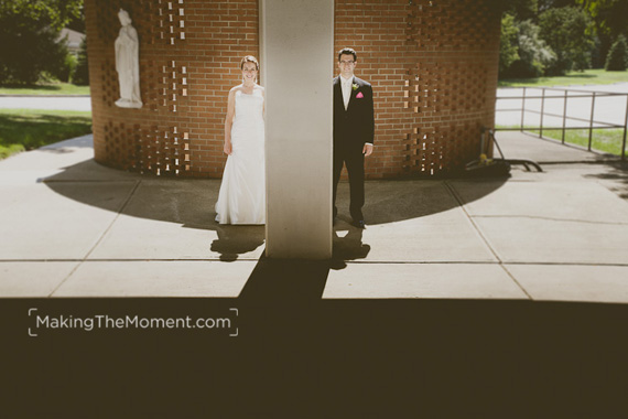 Holy Spirit Parish Cleveland Wedding Photographer