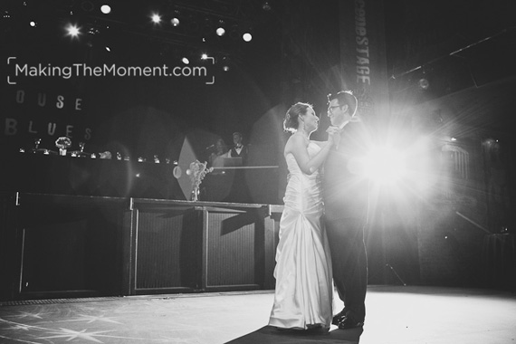 Modern Cleveland House of Blues Wedding Photography