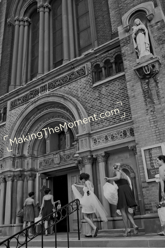 St. John Cantius Wedding Photographer