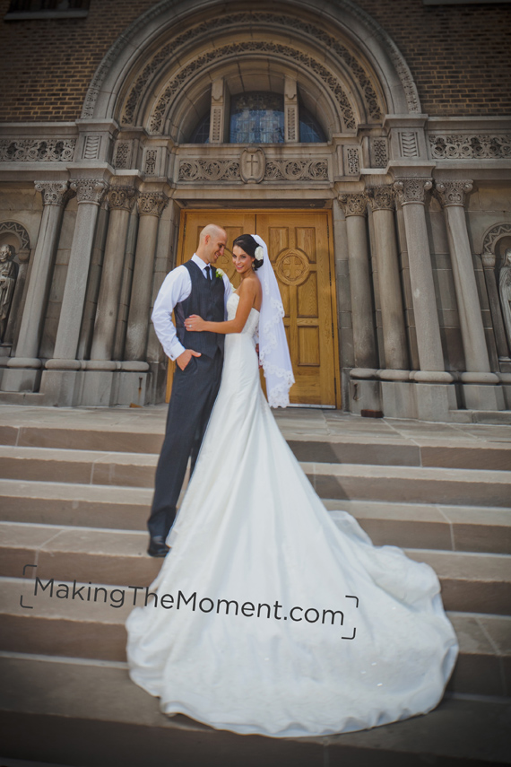 St. John Cantius Cleveland Wedding Photographer