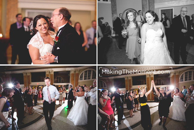 Ballroom at Park Lane Cleveland Wedding Reception Photographer