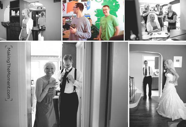 Cleveland candid wedding photographer