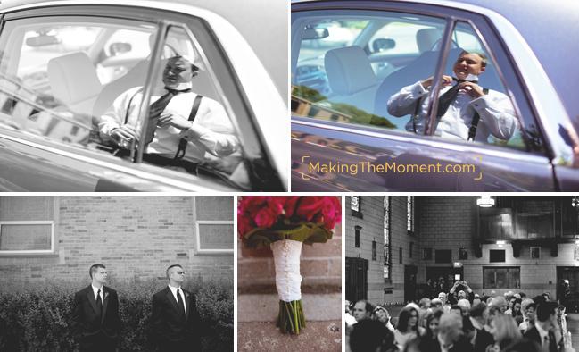 Candid cleveland wedding photographer