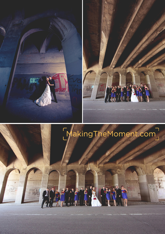 Edgy Wedding Photographer in Cleveland