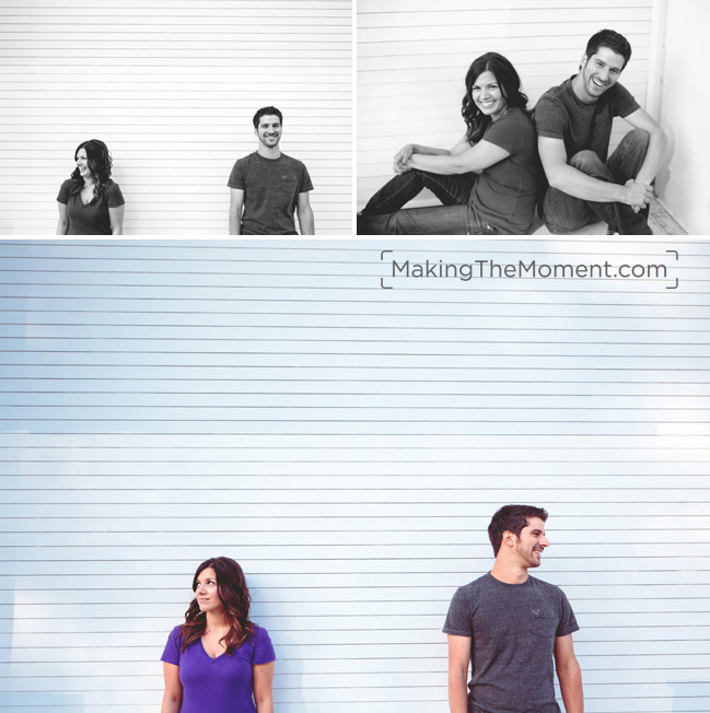 Modern Cleveland Engagement Photographer