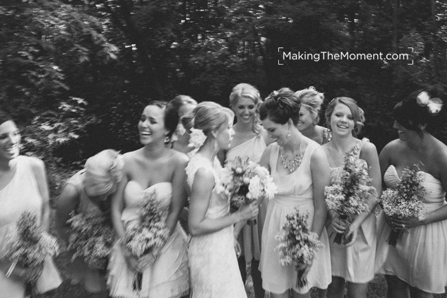 Candid Cleveland Wedding Photographer