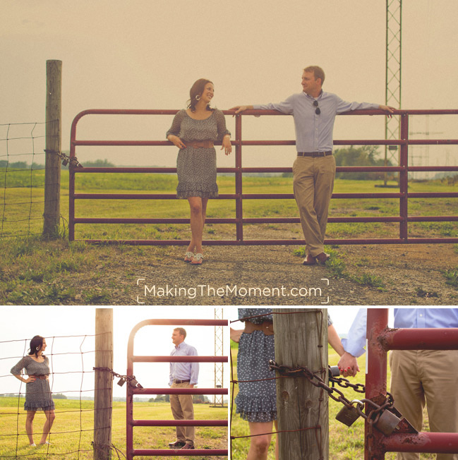 Country Cleveland Engagement Session
