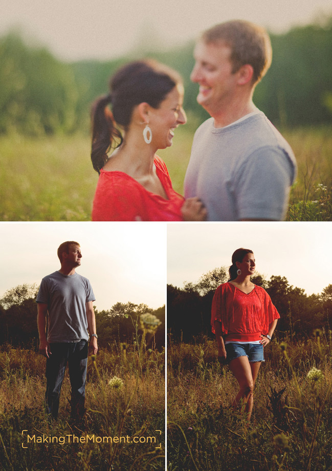 Modern Cleveland Engagement Session Photographer