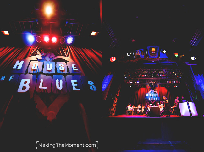 House of Blues Cleveland Wedding Reception Photographer