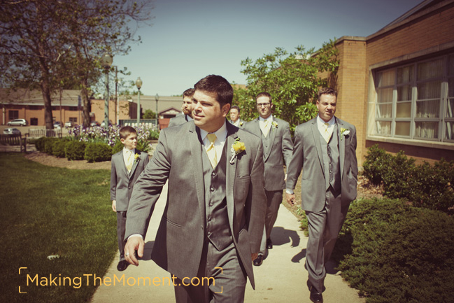 Photojournalistic Akron Canton Wedding Photographer