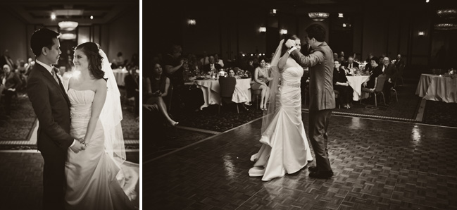 Cleveland Marriott Key Center Wedding Photographer