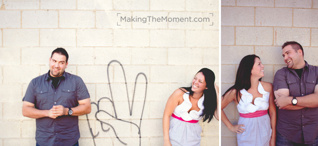 Fun Cleveland Engagement Session Photographer
