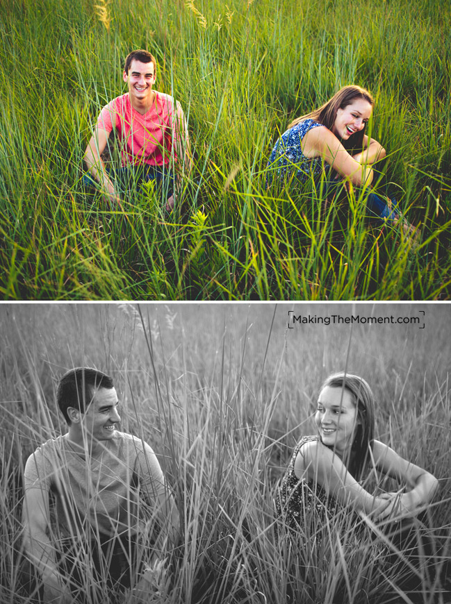 Cleveland Country Engagement Session Photography