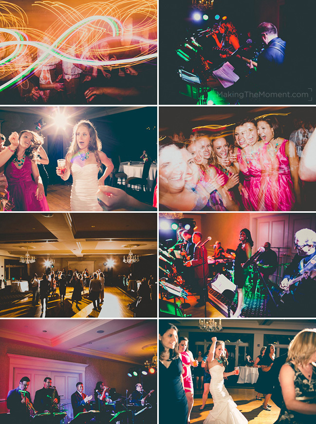 Shaker Heights Country Club Wedding Reception Photographer