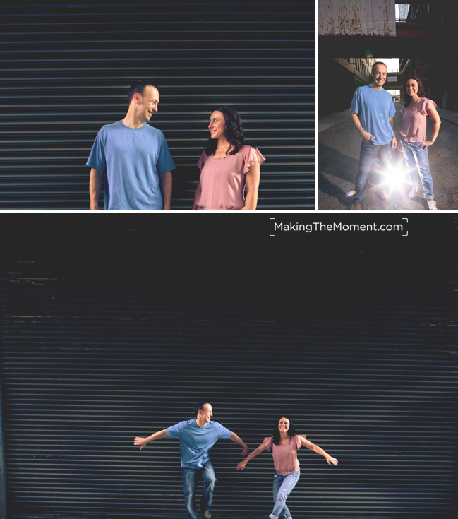 Fun Cleveland Engagement Session