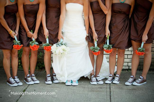 Creative cleveland wedding photography