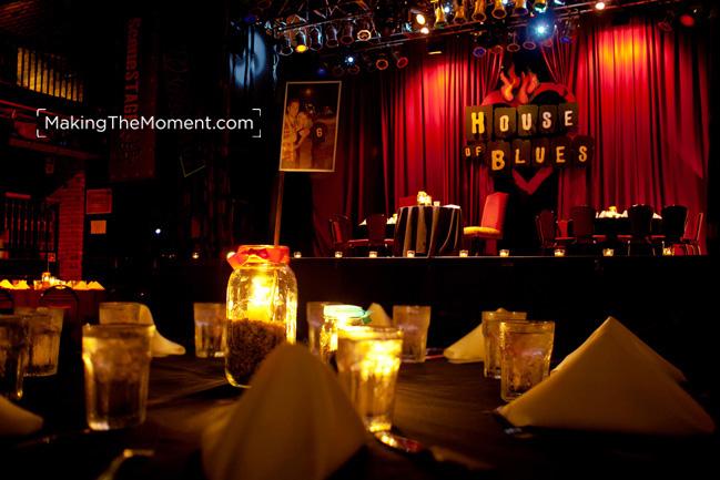 Cleveland House of Blues Wedding Reception Photographer