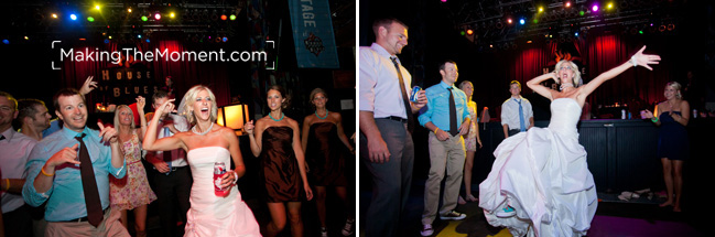 House of Blues Cleveland wedding photography