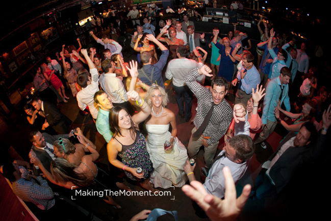 Fun Cleveland House of Blues wedding photographer