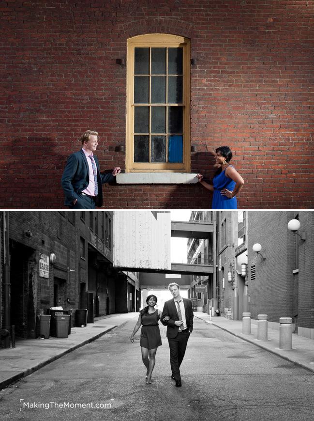 Cleveland Indian Wedding Engagement Session Photographer