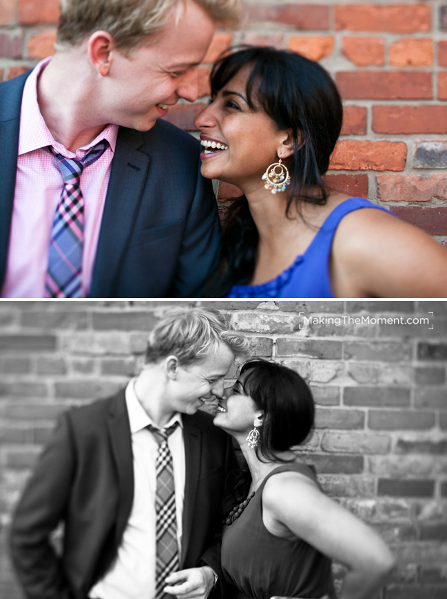 Cleveland Indian Wedding Engagement Session Photography