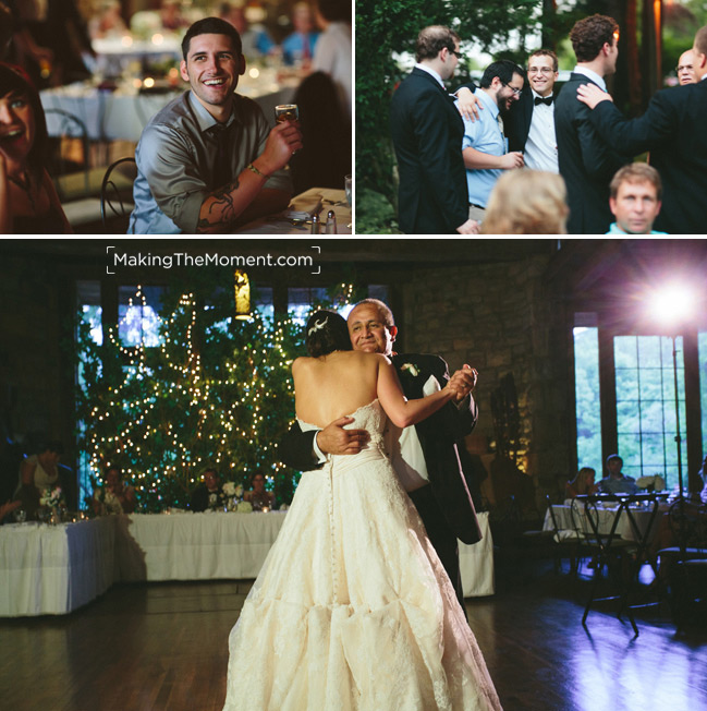 Green Gables Restaurant Wedding Reception Photographer