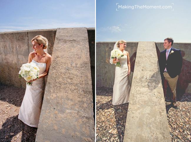 Wedding Photography at Jonathan Edwards Winery in Stonington