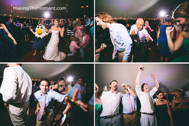 Jonathan Edwards Winery Wedding Reception Photographer
