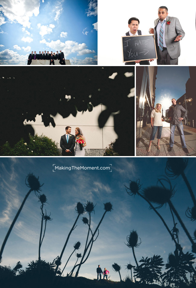 Nontraditional Cleveland Wedding photographers