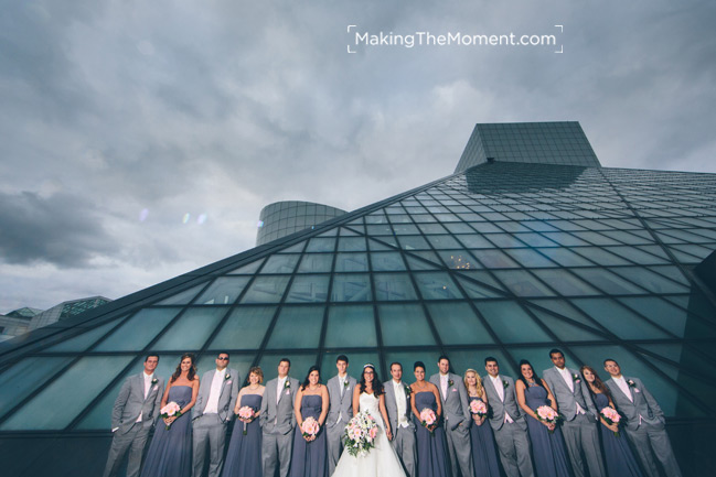 Rock and Roll Hall of Fame Wedding