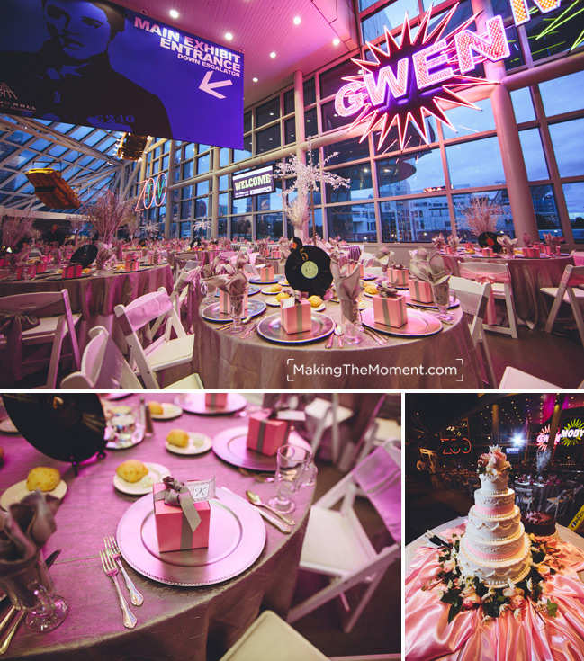 Wedding at the Rock and Roll Hall of Fame Cleveland