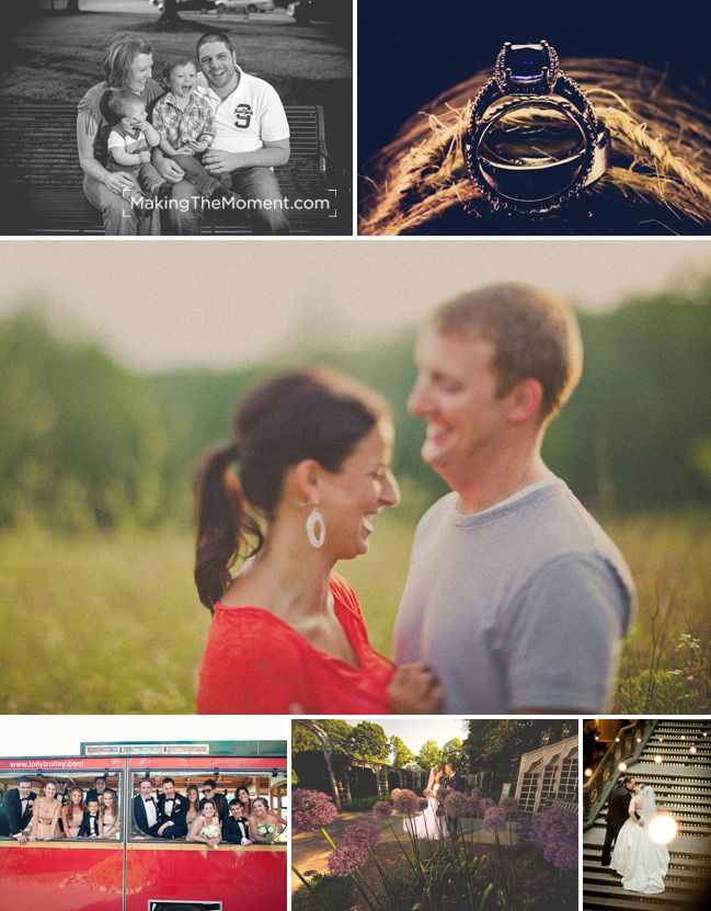 Creative wedding photographers in Cleveland